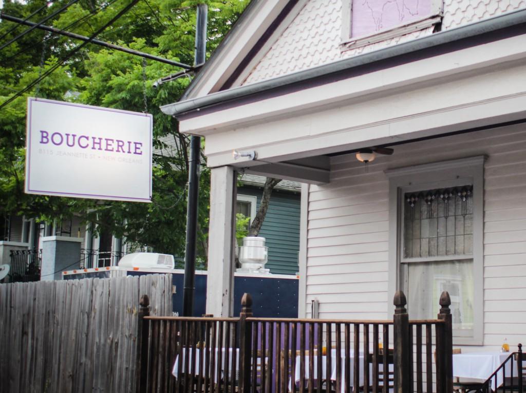 Boucherie Sign on Jeannette Street