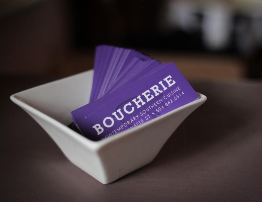 Boucherie Mini Business Cards