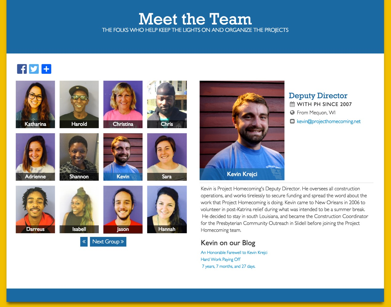 PH Staff Page Grid