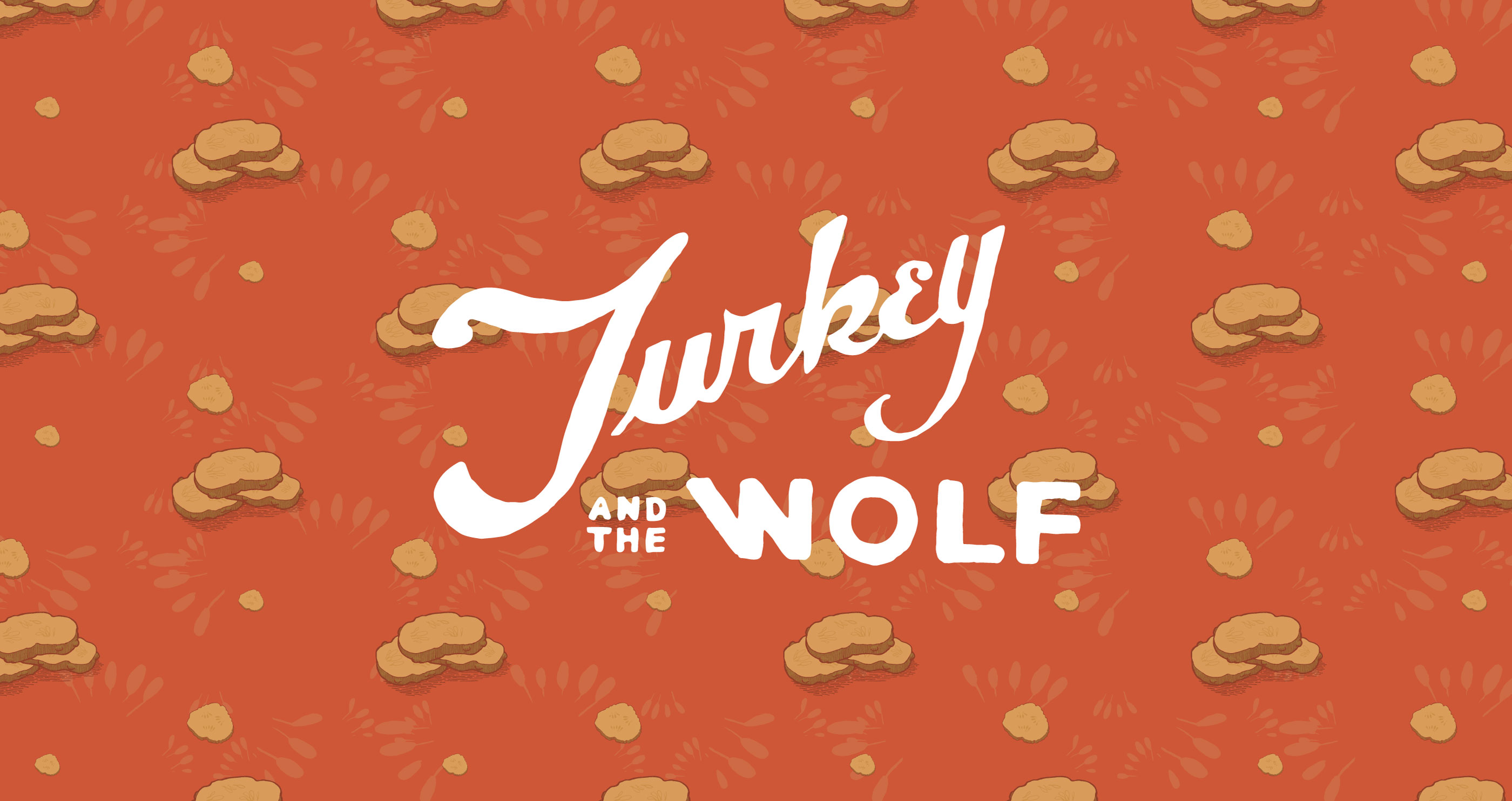 Turkey and the Wolf Logo on Pickle Wallpaper